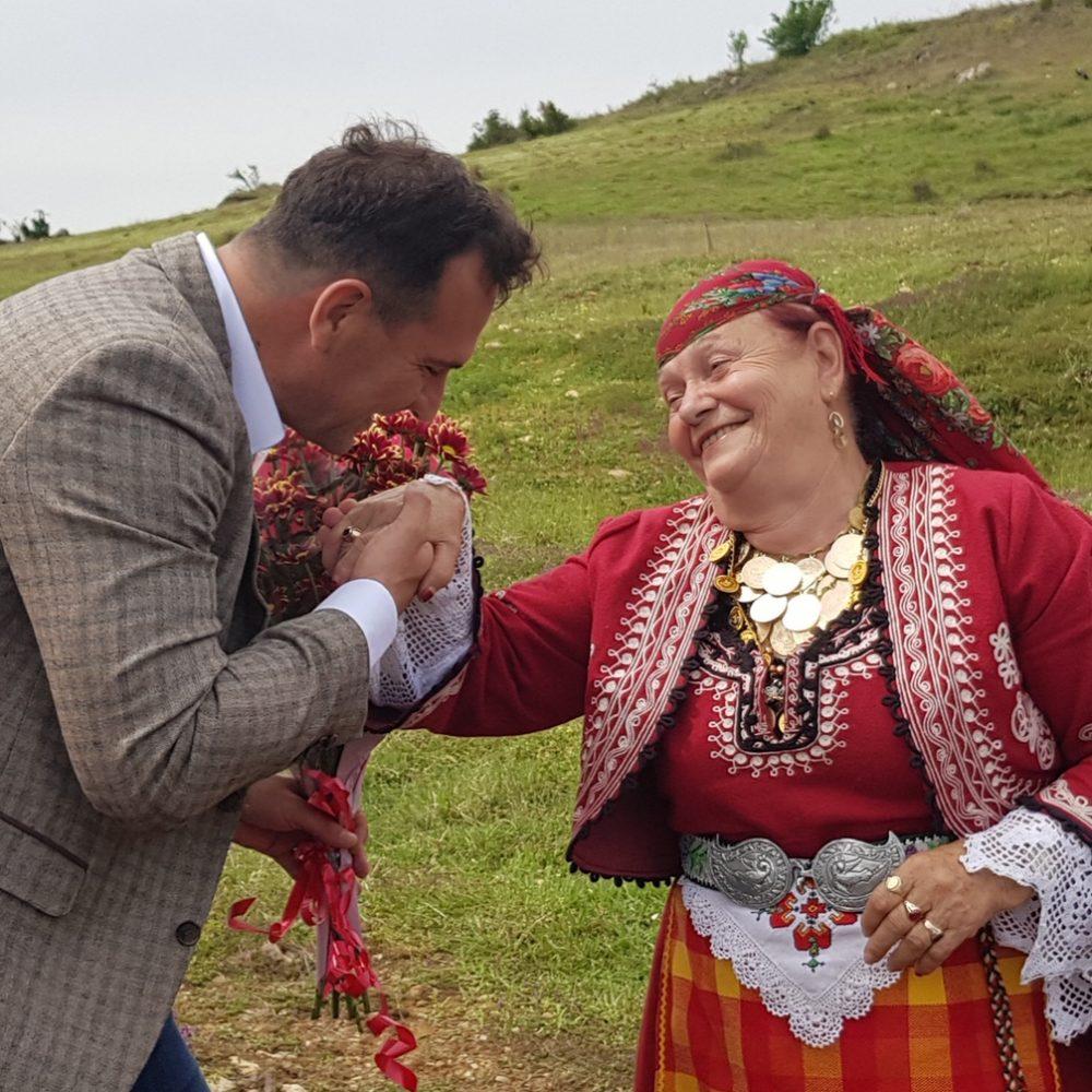 Слоган с Валя Балканска- Крумовград